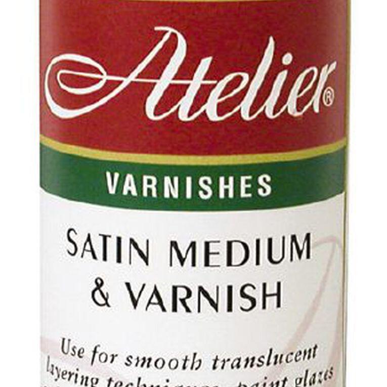 Atelier Medium & Varnish 250ml Satin, , hi-res