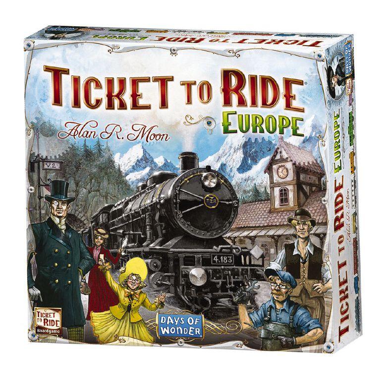 Ticket to Ride Europe, , hi-res