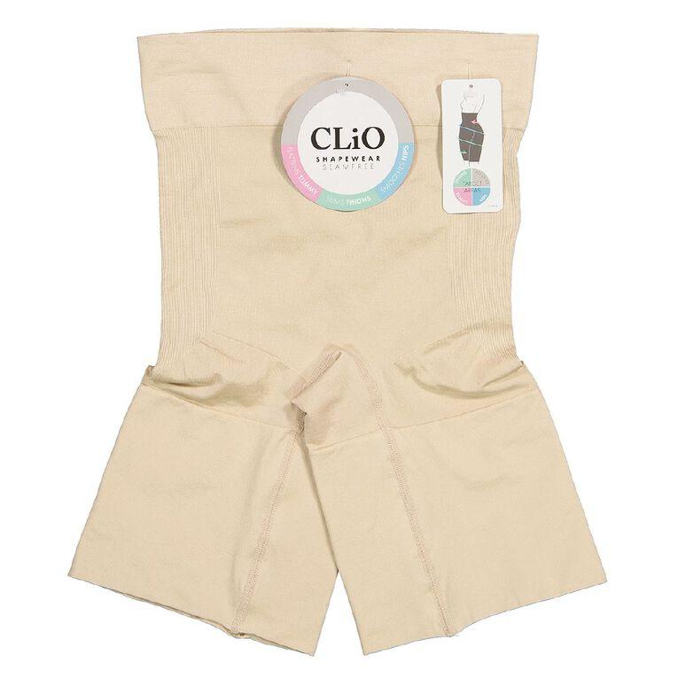 Clio Hi Waist Thigh Shaper, Natural, hi-res