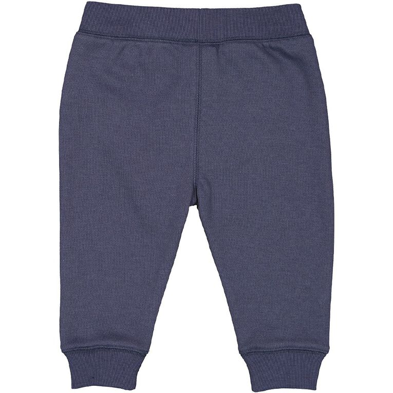 Young Original Baby Patch Trackpants, Blue Light, hi-res
