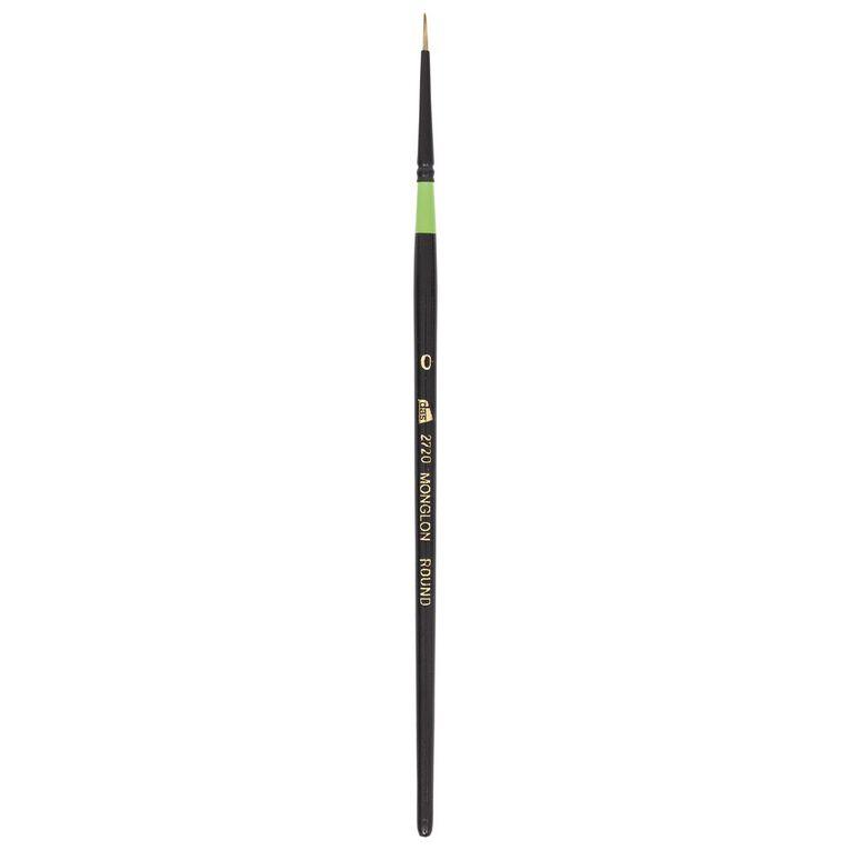 DAS Brush Manglon Blended Synthetic Fibre Round #0, , hi-res
