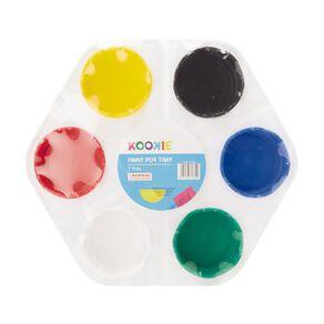Kookie Paint Pot Tray Multicoloured