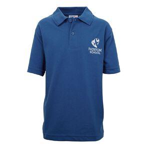 Schooltex Fairton School Short Sleeve Polo with Embroidery