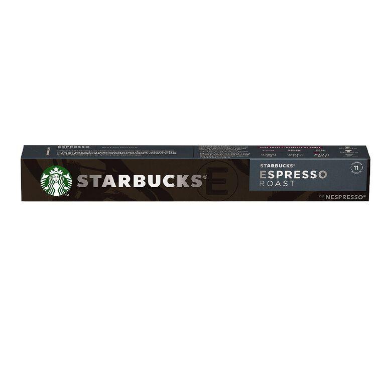 Starbucks by Nespresso Coffee Capsule Espresso Roast 10x57g, , hi-res