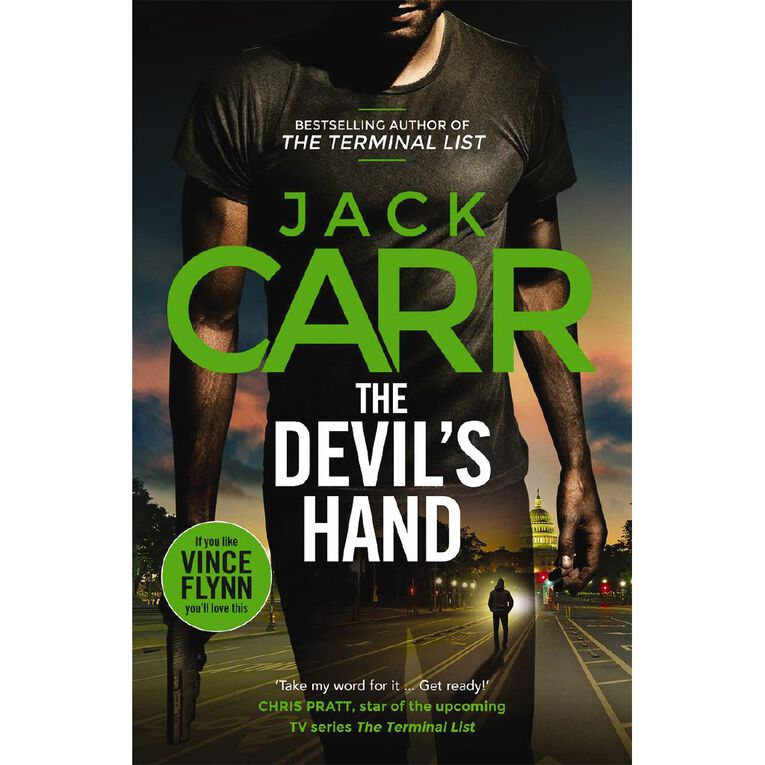 The Devil's Hand by Jack Carr, , hi-res