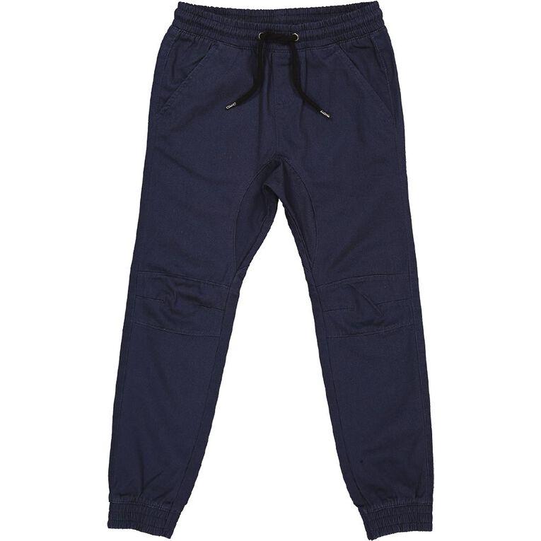 Young Original Moto Cuff Chino Pants, Blue Dark, hi-res
