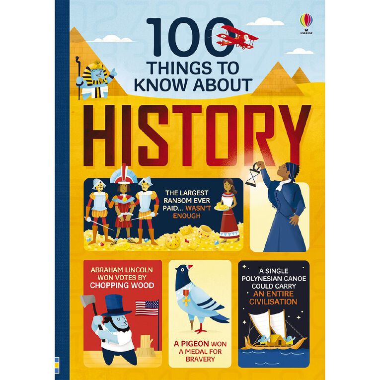 100 Things to Know History, , hi-res