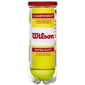 Wilson Championship Extra Duty Tennis Balls 3 Pack