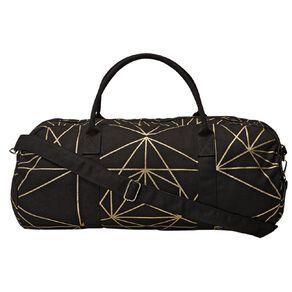 H&H Canvas Overnight Bag Aztec Blk/Wht