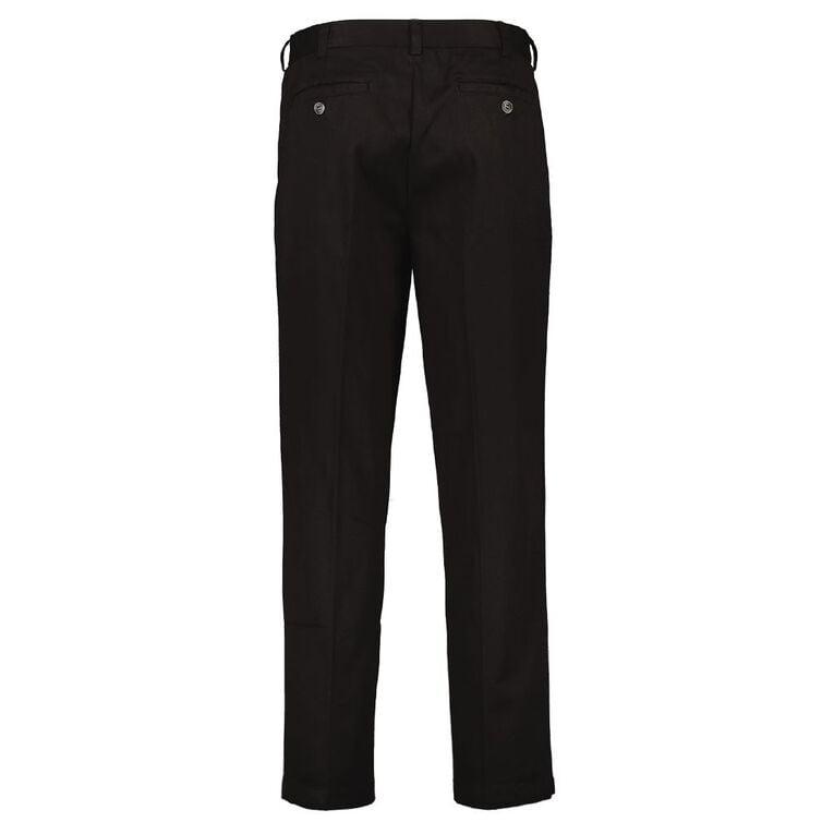 H&H Men's Monaco Formal Pants, Black, hi-res