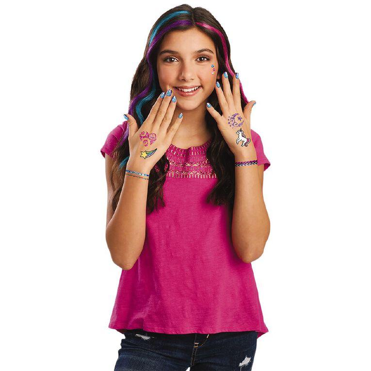Shimmer n Sparkle 3 n 1 Ultimate Glitter Beauty Set, , hi-res