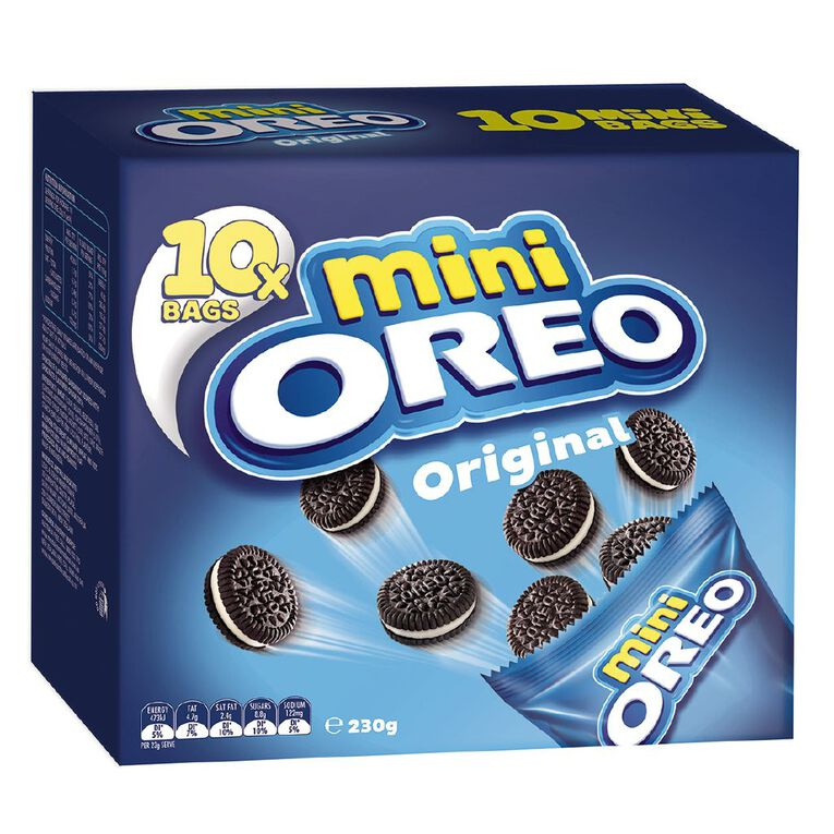 Oreo Original Mini Multipack 230g, , hi-res