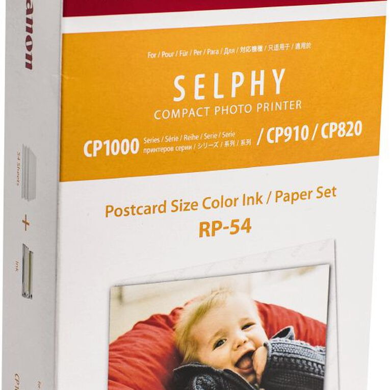 Canon Selphy Photo Paper RP54, , hi-res