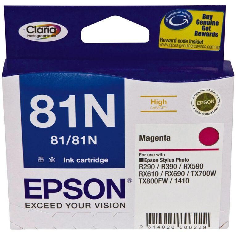 Epson Ink 81N Magenta (805 Pages), , hi-res
