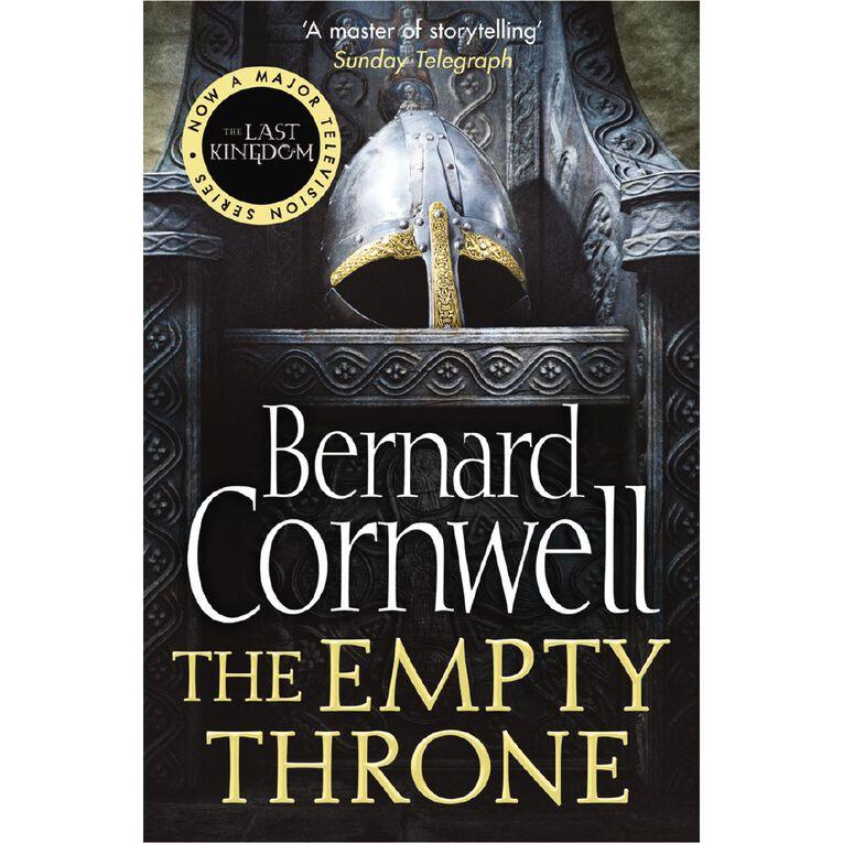 Last Kingdom #8 Empty Throne by Bernard Cornwell, , hi-res