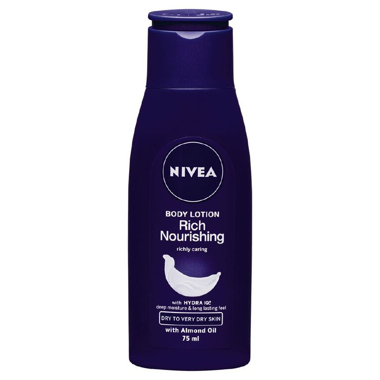 Nivea Rich Nourishing Body Lotion 75ml, , hi-res