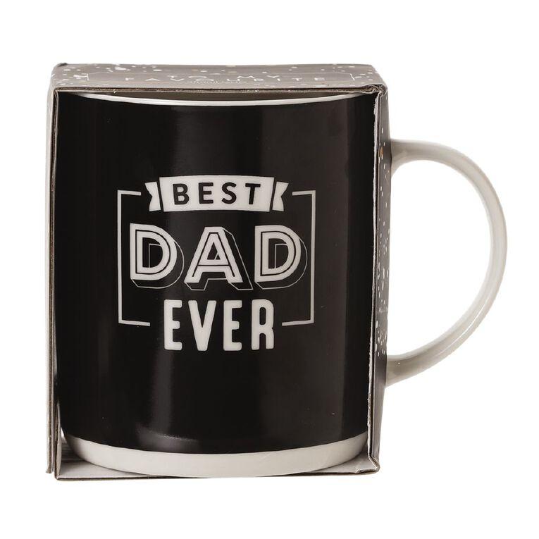 Living & Co Best Dad Mug Multi-Coloured, , hi-res