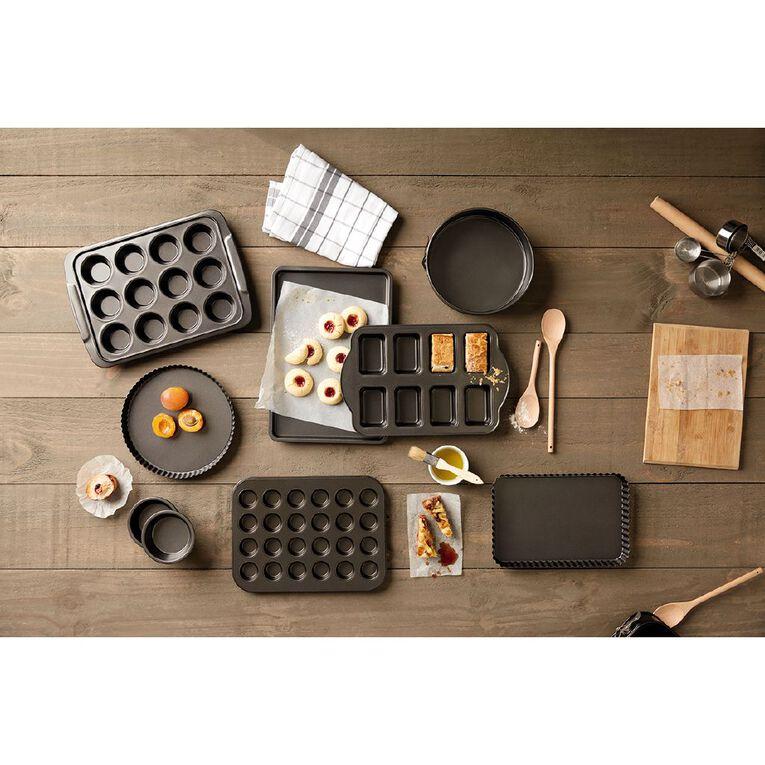 Living & Co Heavy Gauge Non Stick Mini Loaf Tin 8 Cup, , hi-res