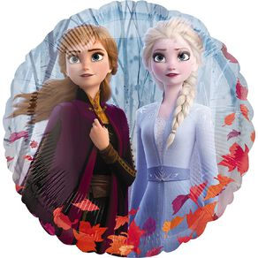 Frozen 2 Satin Foil Balloon Standard 17in
