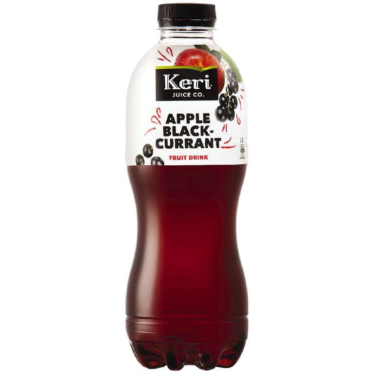 Keri Grab & Go Apple & Blackcurrant Juice 1L, , hi-res