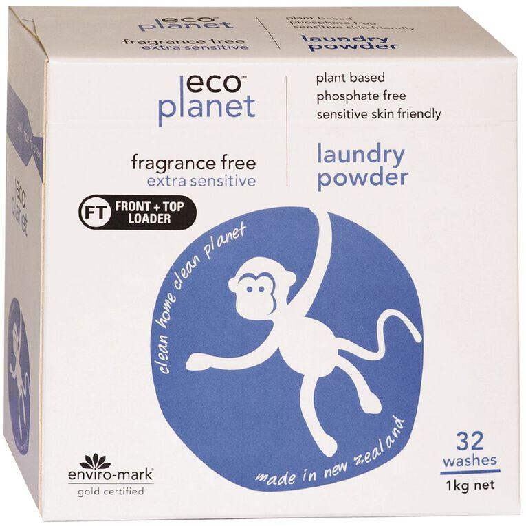 ECO Planet Laundry Powder Fragrance Free 1KG 1kg, , hi-res