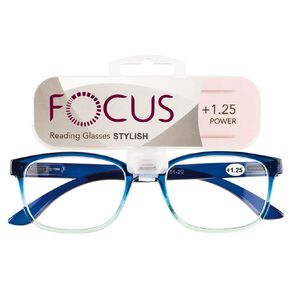 Focus Reading Glasses Stylish Power 1.25