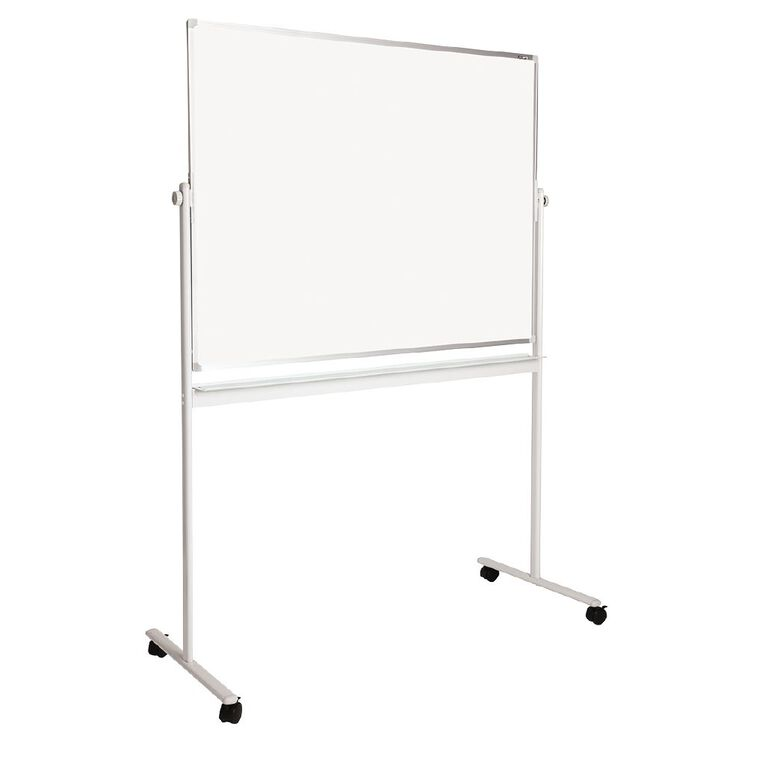 Litewyte Value Pivoting Mobile Whiteboard 900x1200mm, , hi-res