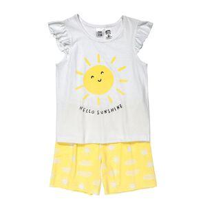 H&H Short Sleeve Frill Pyjamas