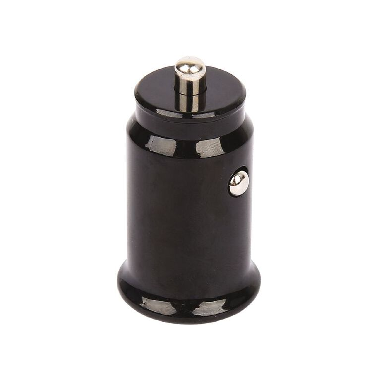 Tech.Inc Dual USB Car Charger 2.4A Black, , hi-res image number null