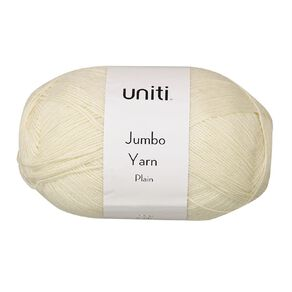 Uniti Yarn Jumbo 8 Ply Cream 300g
