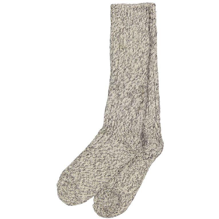 Alpsocks Men's Fleck Socks, Grey, hi-res
