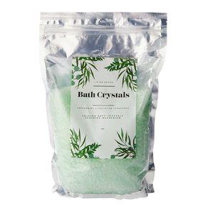 Bath Crystals Peppermint Eucalyptus 1kg