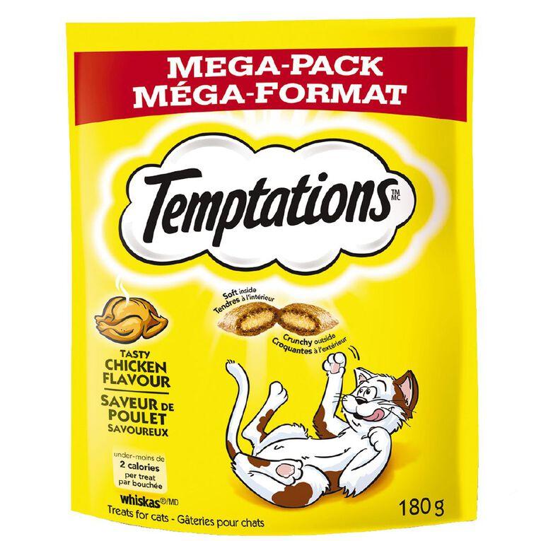 Temptations Cat Treats Tasty Chicken Mega Pack 180g Bag, , hi-res