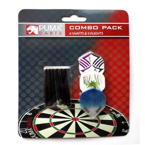 Puma Darts Dark Flight & Shaft Combo Pack