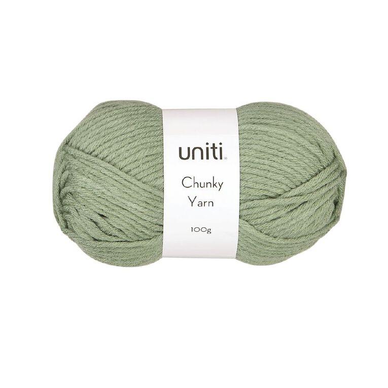 Uniti Yarn Chunky 100g Moss, , hi-res
