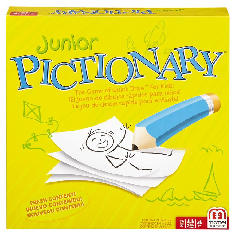Junior Pictionary Game, , hi-res