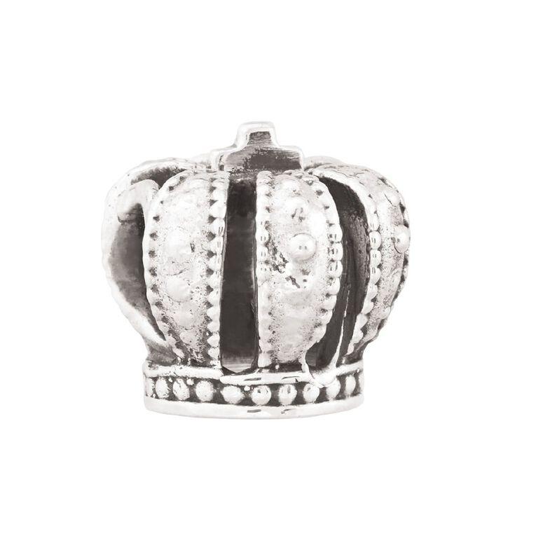 Ane Si Dora Sterling Silver Crown Charm, , hi-res