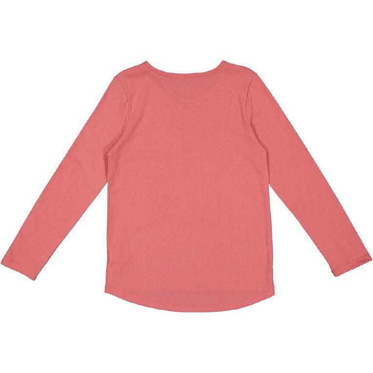 Young Original Long Sleeve Novelty Tee, Pink Mid BUNNY, hi-res