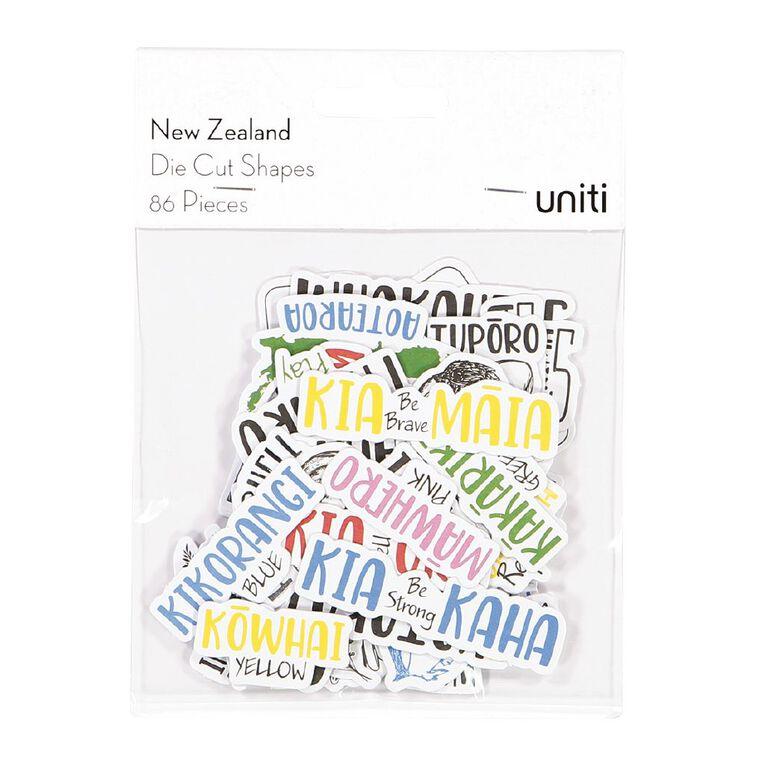 Uniti New Zealand Die Cut Shapes, , hi-res