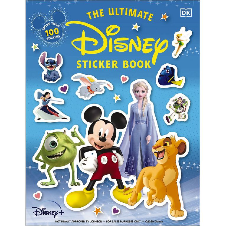 The Ultimate Disney Sticker Book, , hi-res