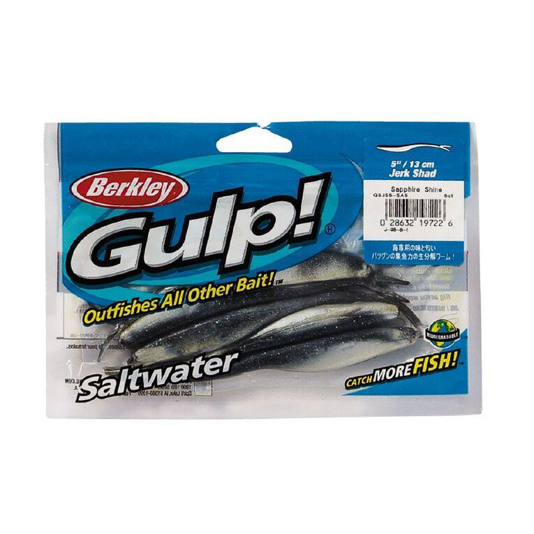 Gulp Soft Bait Sapphire Shine 5 inch, , hi-res