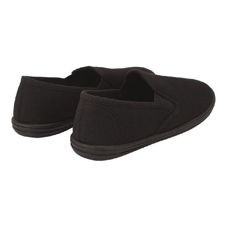 Young Original Kids' Ninja Canvas Shoes, Black, hi-res