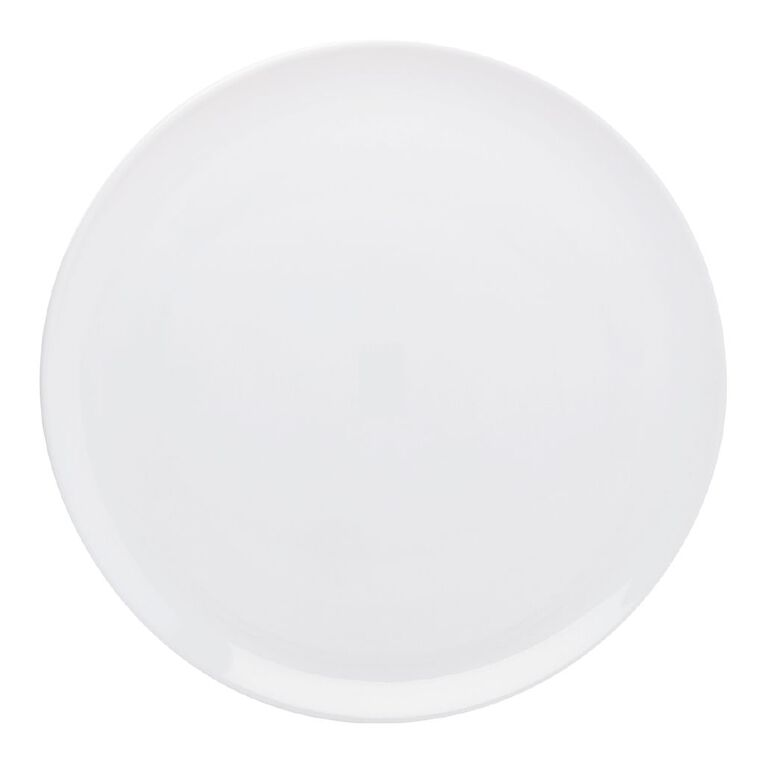 Living & Co Melamine Serve Platter White, , hi-res
