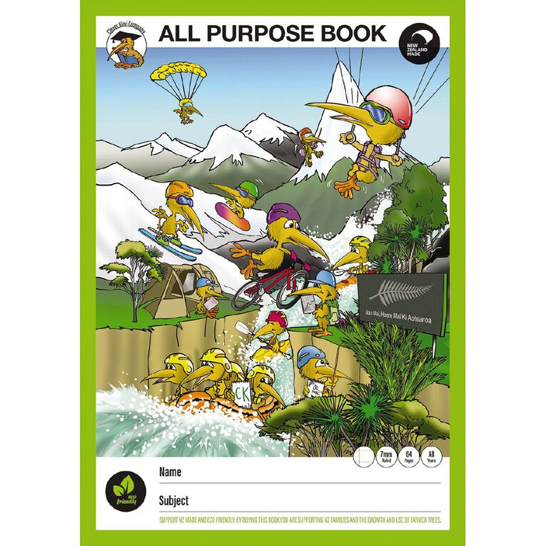 Clever Kiwi All Purpose Book, , hi-res