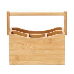 Living & Co Naturals Bamboo Cutlery Holder