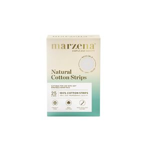 Marzena Natural Cotton Strips 25 Pack