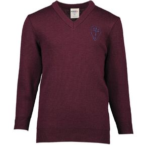 Schooltex Holy Cross Miramar Jersey with Embroidery