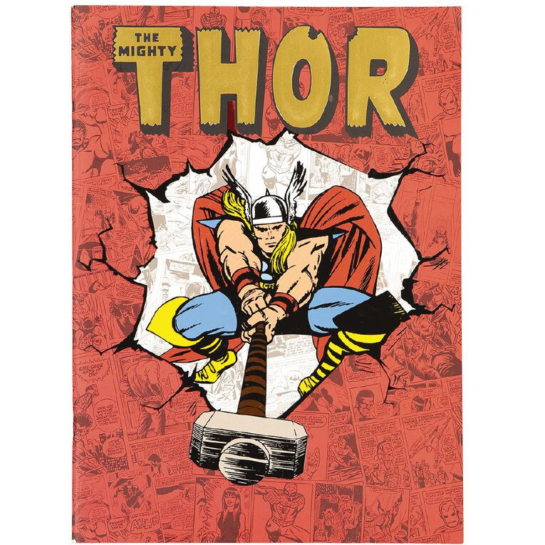 Marvel Kids Thor Scrapbook The Mighty Thor Red, , hi-res