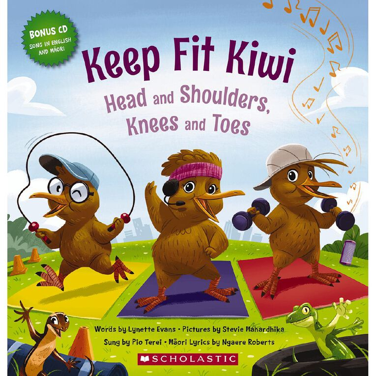 Keep Fit Kiwi by Lynette Evans, , hi-res