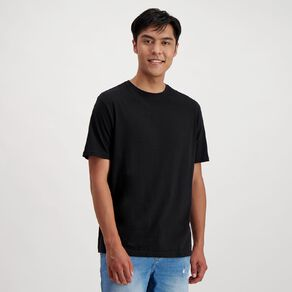H&H Men's Crew Neck Short Sleeve Plain Tee